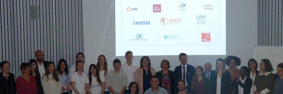 1er Prix Entrepreneuriat Etudiant Auvergne (PEEA) 2017
