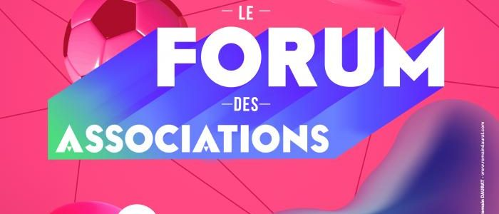 Forum des associations – samedi 22 septembre – 10h/17h – Place de Jaude