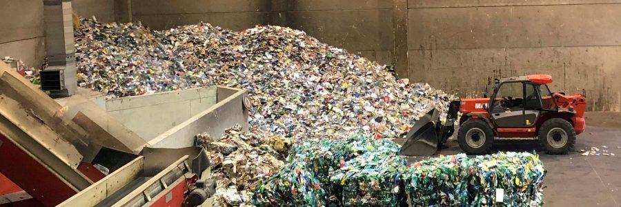 Visite du centre de tri des déchets de Clermont – 19 novembre 2018